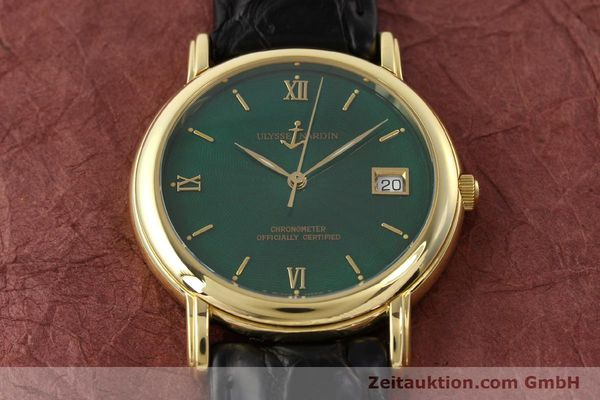 Used luxury watch Ulysse Nardin San Marco 14 ct yellow gold automatic Kal. ETA 2892-2 Ref. 131-77-9  | 141506 20