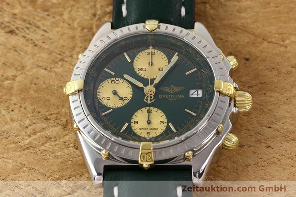 Used luxury watch Breitling Chronomat gilt steel automatic Kal. B13 ETA 7750 Ref. B13050  | 141512 14