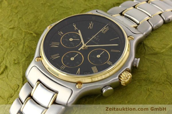 Used luxury watch Ebel 1911 chronograph steel / gold automatic Kal. 134 Ref. 1134901  | 141513 01