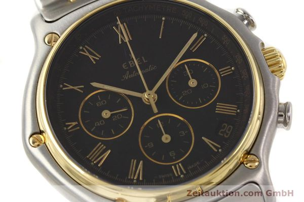 Used luxury watch Ebel 1911 chronograph steel / gold automatic Kal. 134 Ref. 1134901  | 141513 02