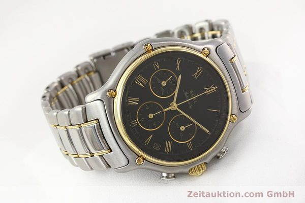 Used luxury watch Ebel 1911 chronograph steel / gold automatic Kal. 134 Ref. 1134901  | 141513 03