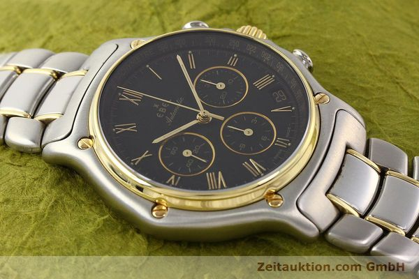 Used luxury watch Ebel 1911 chronograph steel / gold automatic Kal. 134 Ref. 1134901  | 141513 13