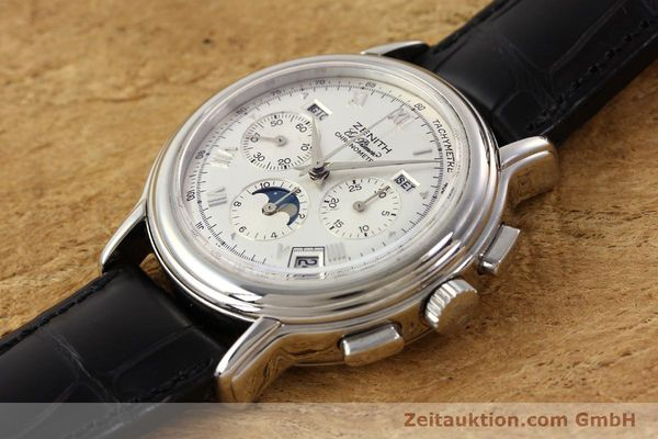 Used luxury watch Zenith Chronomaster chronograph steel automatic Kal. 410 Ref. 01.0240.410  | 141522 01