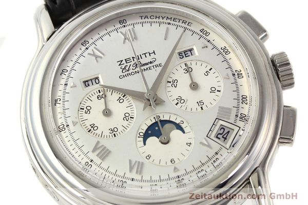 Used luxury watch Zenith Chronomaster chronograph steel automatic Kal. 410 Ref. 01.0240.410  | 141522 02