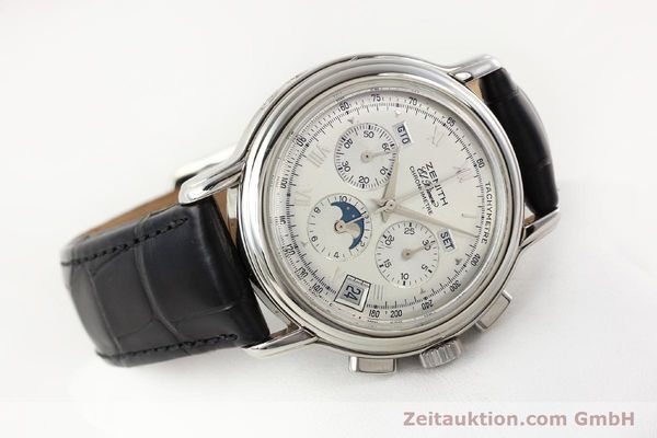 Used luxury watch Zenith Chronomaster chronograph steel automatic Kal. 410 Ref. 01.0240.410  | 141522 03