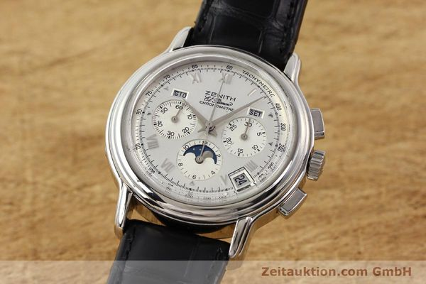 Used luxury watch Zenith Chronomaster chronograph steel automatic Kal. 410 Ref. 01.0240.410  | 141522 04