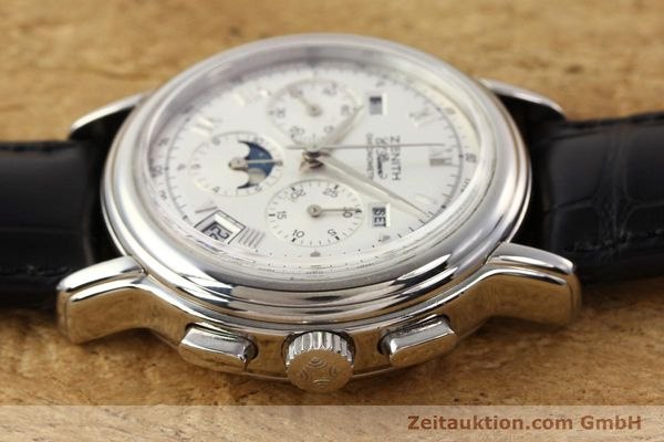 Used luxury watch Zenith Chronomaster chronograph steel automatic Kal. 410 Ref. 01.0240.410  | 141522 05