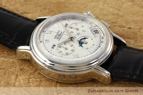 Used luxury watch Zenith Chronomaster chronograph steel automatic Kal. 410 Ref. 01.0240.410  | 141522 12