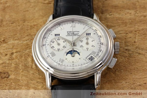 Used luxury watch Zenith Chronomaster chronograph steel automatic Kal. 410 Ref. 01.0240.410  | 141522 13