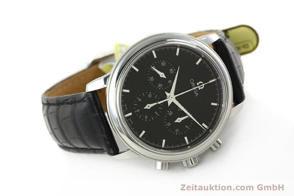 Used luxury watch Omega De Ville chronograph steel manual winding Kal. 861 Ref. 48405101  | 141524 03