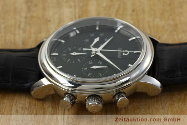 Used luxury watch Omega De Ville chronograph steel manual winding Kal. 861 Ref. 48405101  | 141524 05