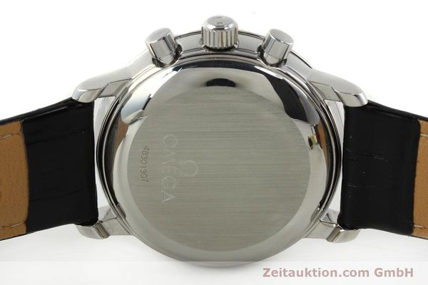 Used luxury watch Omega De Ville chronograph steel manual winding Kal. 861 Ref. 48405101  | 141524 09