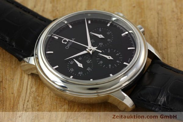 Used luxury watch Omega De Ville chronograph steel manual winding Kal. 861 Ref. 48405101  | 141524 16