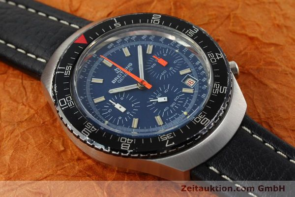 Used luxury watch Breitling * chronograph steel manual winding Kal. VAL 7740 Ref. 40  | 141525 12