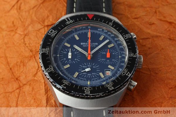 Used luxury watch Breitling * chronograph steel manual winding Kal. VAL 7740 Ref. 40  | 141525 13