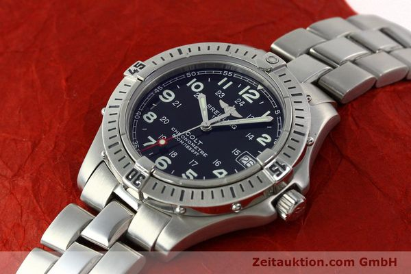 Used luxury watch Breitling Colt steel quartz Kal. B74 Ref. A74350  | 141526 01