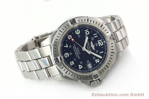 Used luxury watch Breitling Colt steel quartz Kal. B74 Ref. A74350  | 141526 03
