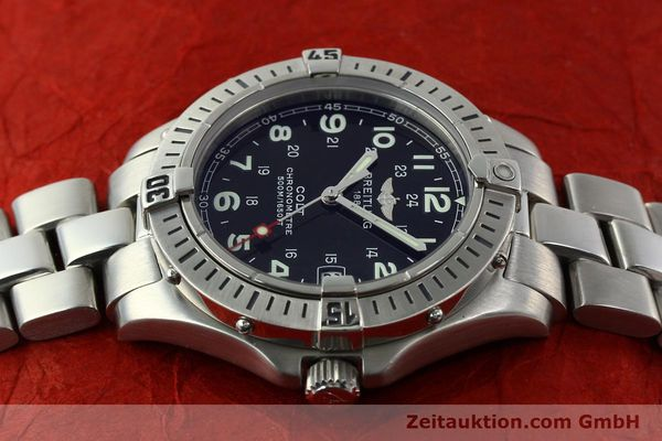 Used luxury watch Breitling Colt steel quartz Kal. B74 Ref. A74350  | 141526 05