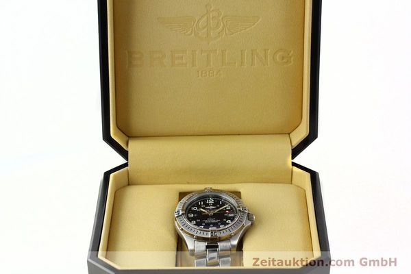 Used luxury watch Breitling Colt steel quartz Kal. B74 Ref. A74350  | 141526 07