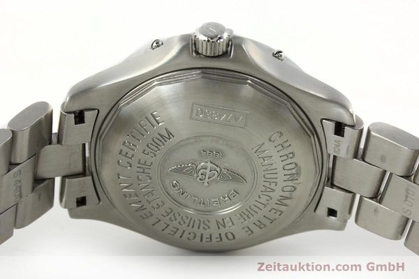 Used luxury watch Breitling Colt steel quartz Kal. B74 Ref. A74350  | 141526 09