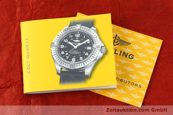 Used luxury watch Breitling Colt steel quartz Kal. B74 Ref. A74350  | 141526 13
