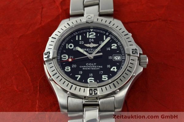 Used luxury watch Breitling Colt steel quartz Kal. B74 Ref. A74350  | 141526 17