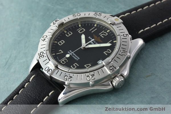 Used luxury watch Breitling Colt steel automatic Kal. B17 ETA 2824-2 Ref. A17035  | 141529 01