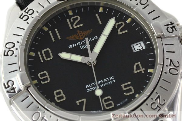Used luxury watch Breitling Colt steel automatic Kal. B17 ETA 2824-2 Ref. A17035  | 141529 02