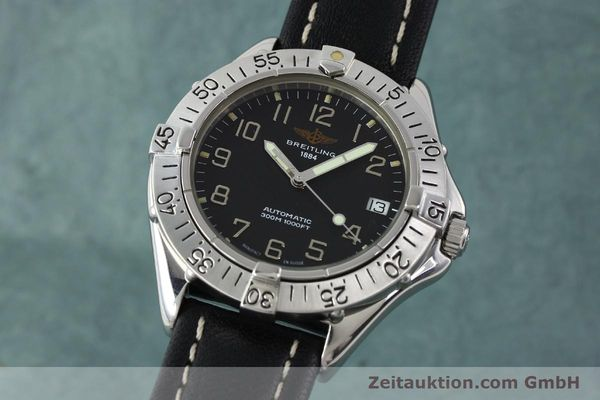 Used luxury watch Breitling Colt steel automatic Kal. B17 ETA 2824-2 Ref. A17035  | 141529 04