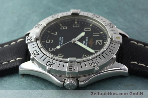 Used luxury watch Breitling Colt steel automatic Kal. B17 ETA 2824-2 Ref. A17035  | 141529 05