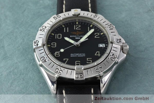 Used luxury watch Breitling Colt steel automatic Kal. B17 ETA 2824-2 Ref. A17035  | 141529 15