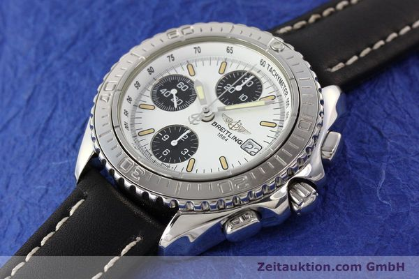 Used luxury watch Breitling Shark chronograph steel automatic Kal. B13 ETA 7750 Ref. A13051  | 141531 01
