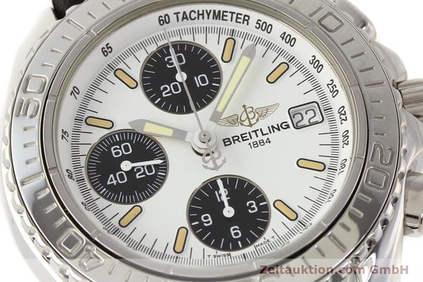 Used luxury watch Breitling Shark chronograph steel automatic Kal. B13 ETA 7750 Ref. A13051  | 141531 02