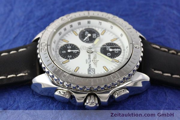 Used luxury watch Breitling Shark chronograph steel automatic Kal. B13 ETA 7750 Ref. A13051  | 141531 05