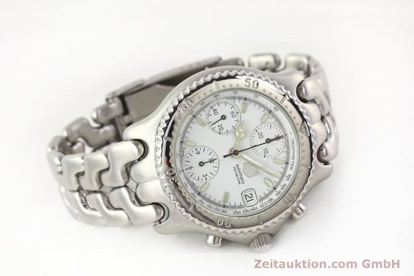 Used luxury watch Tag Heuer Professional chronograph steel automatic Kal. 16 ETA 7750 Ref. CG2110-RO  | 141532 03