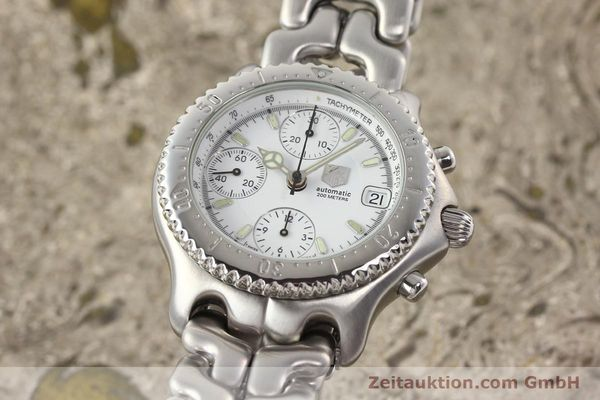 Used luxury watch Tag Heuer Professional chronograph steel automatic Kal. 16 ETA 7750 Ref. CG2110-RO  | 141532 04