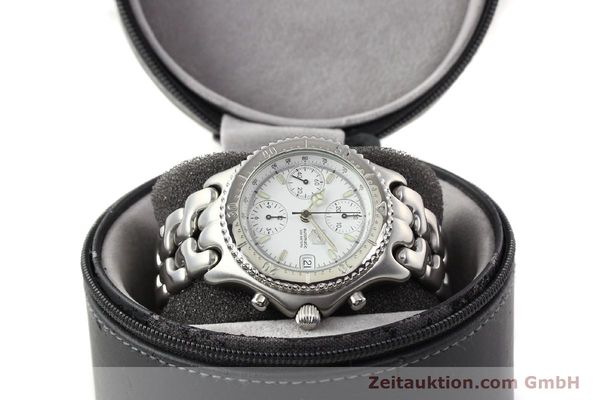 Used luxury watch Tag Heuer Professional chronograph steel automatic Kal. 16 ETA 7750 Ref. CG2110-RO  | 141532 07