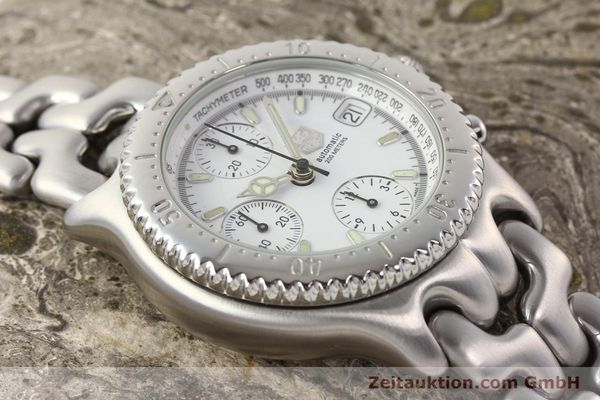 Used luxury watch Tag Heuer Professional chronograph steel automatic Kal. 16 ETA 7750 Ref. CG2110-RO  | 141532 14