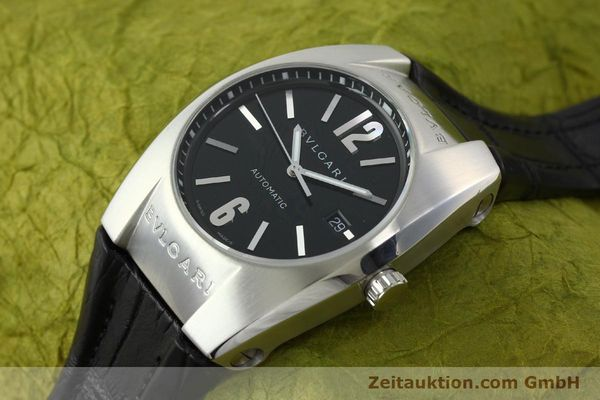 Used luxury watch Bvlgari Ergon steel automatic Kal. TEER220 Ref. EC40S  | 141539 01