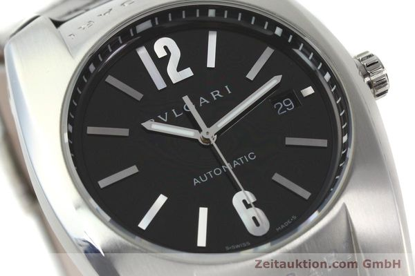 Used luxury watch Bvlgari Ergon steel automatic Kal. TEER220 Ref. EC40S  | 141539 02