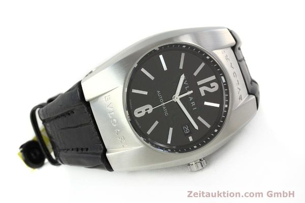 Used luxury watch Bvlgari Ergon steel automatic Kal. TEER220 Ref. EC40S  | 141539 03