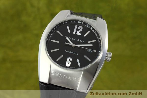 Used luxury watch Bvlgari Ergon steel automatic Kal. TEER220 Ref. EC40S  | 141539 04