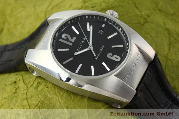 Used luxury watch Bvlgari Ergon steel automatic Kal. TEER220 Ref. EC40S  | 141539 17