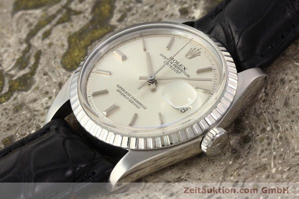 Used luxury watch Rolex Datejust steel automatic Kal. 1570 Ref. 1601  | 141541 01