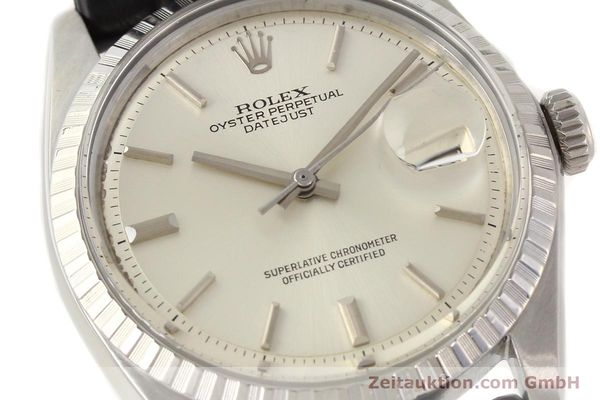 Used luxury watch Rolex Datejust steel automatic Kal. 1570 Ref. 1601  | 141541 02