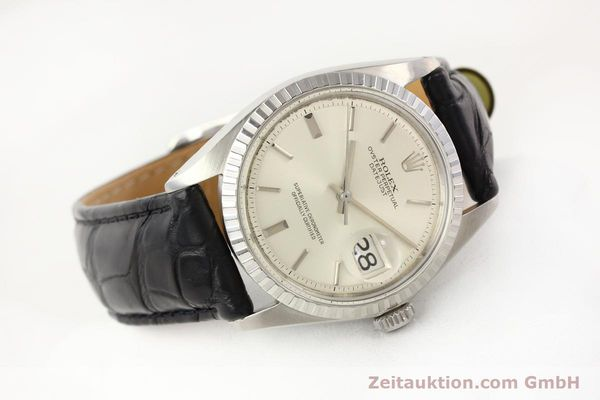 Used luxury watch Rolex Datejust steel automatic Kal. 1570 Ref. 1601  | 141541 03