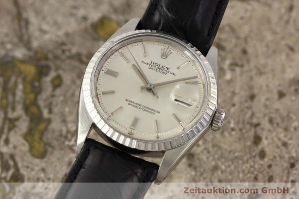 Used luxury watch Rolex Datejust steel automatic Kal. 1570 Ref. 1601  | 141541 04