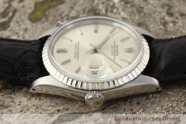 Used luxury watch Rolex Datejust steel automatic Kal. 1570 Ref. 1601  | 141541 05