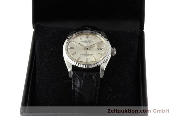 Used luxury watch Rolex Datejust steel automatic Kal. 1570 Ref. 1601  | 141541 07