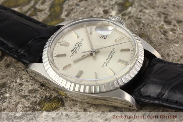 Used luxury watch Rolex Datejust steel automatic Kal. 1570 Ref. 1601  | 141541 13